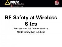 RF Safety at Wireless Sites