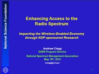 Enhancing Access to the Radio Spectrum