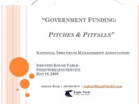 Government Funding: Pitches and Pitfalls