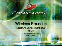 Wireless Roundup