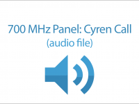 700 MHz Panel: Cyren Call (audio file)
