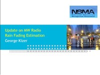 Update on MW RadioRain Fading Estimation