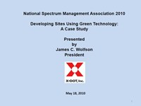 Developing Sites Using Green Technology: A Case Study