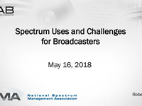 Spectrum Uses and Challenges for Broadcasters