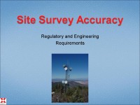 Site Survey Accuracy