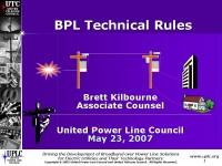 BPL Panel: UTC & UPLC
