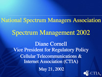 Spectrum Management 2002