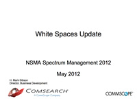 White Spaces Update