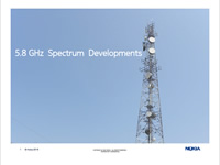 5.8 GHz Spectrum Developments