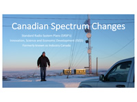 Canadian Spectrum Changes