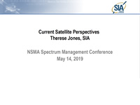 Current Satellite Perspectives